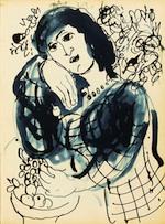 Caderno de Esboços  Marc Chagall