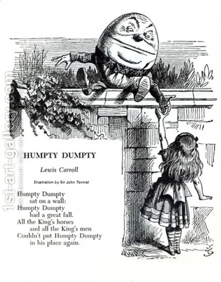 Ilustração de Lewis Carroll