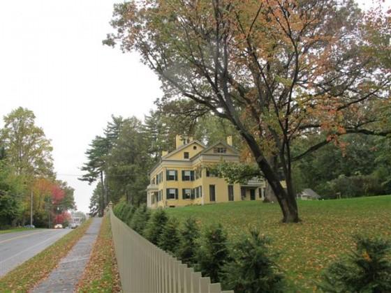 Homestead - casa da família de Emily Dickinson