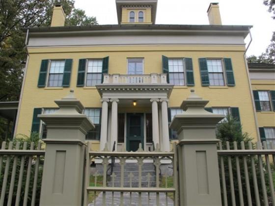 A casa paterna de Emily Dickinson