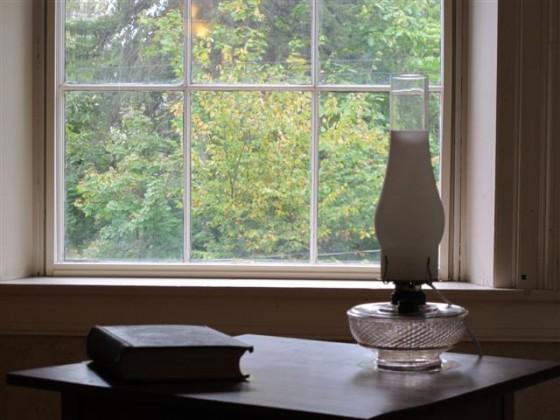 Janela do quarto de Emily Dickinson