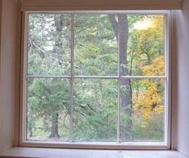 Da janela do quarto de Emily Dickinson